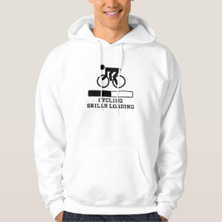 Moletom Carregamento das habilidades do ciclismo