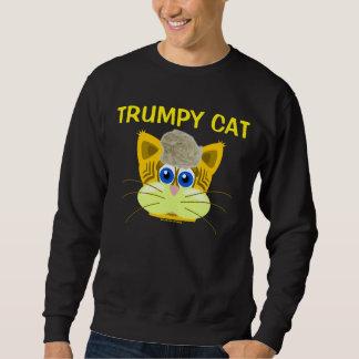 Moletom CAT dos t-shirt TRUMPY do gato de Donald Trump