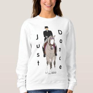 Moletom Cavalo e cavaleiro de Grulla do adestramento