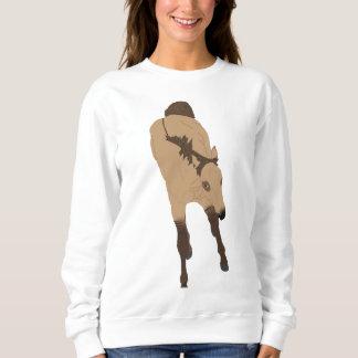 Moletom Cavalo Frolicking do Dun