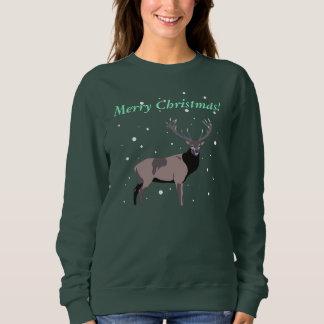 Moletom Cervos da neve - t-shirt do Feliz Natal