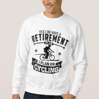 Moletom Ciclismo do plano de aposentação
