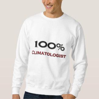 Moletom Climatologist de 100 por cento