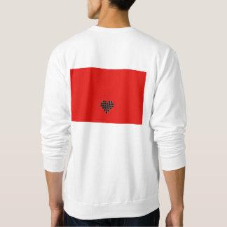 """Moletom Cm3 mim camisola de U do """"coração"""""""