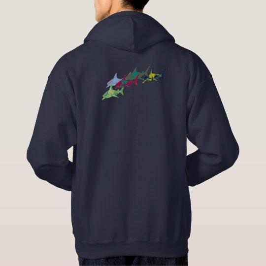 Moletom colorful sharks