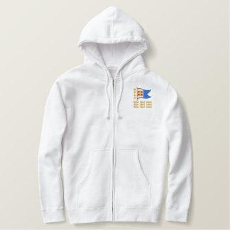Moletom Com Capuz Bordado WRCC: hoodie (bordado, com texto)