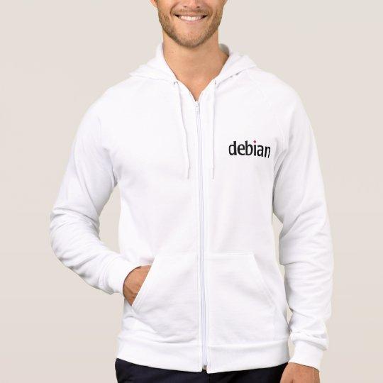 Moletom com Zíper Debian