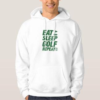 Moletom Coma a repetição do golfe do sono