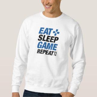 Moletom Coma a repetição do jogo do sono