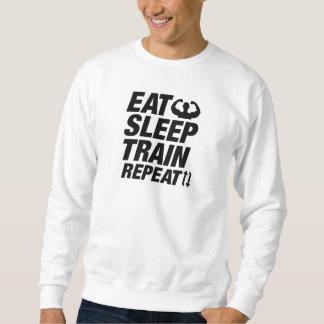 Moletom Coma a repetição do trem do sono