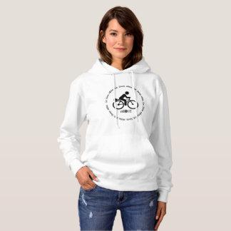 """Moletom """"Coma hoodies feitos sob encomenda do eBike do"""