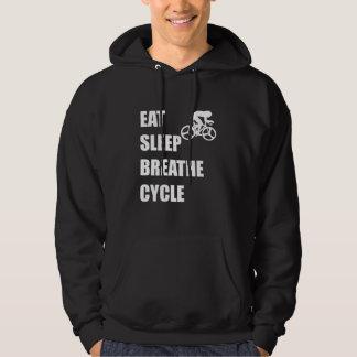 Moletom Coma o sono respiram o ciclo