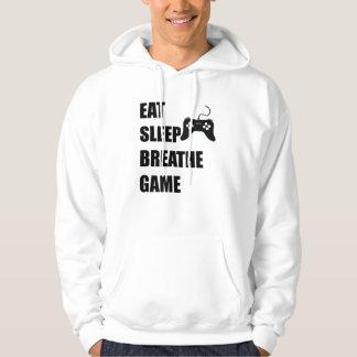Moletom Coma o sono respiram o jogo