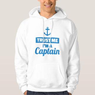 Moletom Confie que eu mim é um capitão