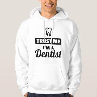 Moletom Confie que eu mim é um dentista