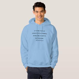 Moletom Conversa à camisola do Hoodie das citações de