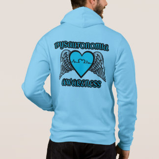 Moletom Coração/asas… Dysautonomia