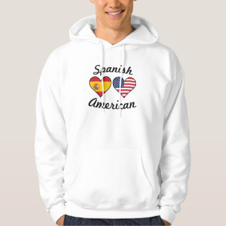 Moletom Corações espanhóis da bandeira americana
