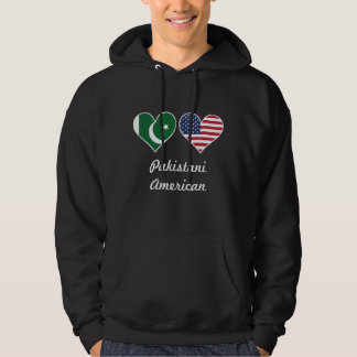 Moletom Corações paquistaneses da bandeira americana