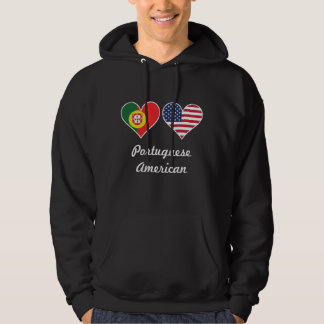 Moletom Corações portugueses da bandeira americana