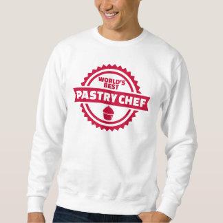 Moletom Cozinheiro chefe de pastelaria do mundo o melhor