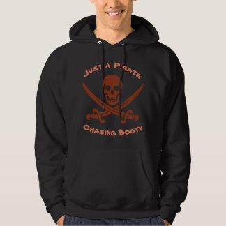 Moletom Crânio de sorriso do pirata apenas um pirata que
