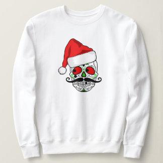Moletom Crânio engraçado do açúcar do Natal