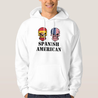 Moletom Crânios espanhóis da bandeira americana