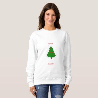 """Moletom Da """"camisola do Natal minha camisola feia"""""""