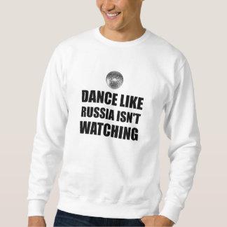 Moletom Dança como Rússia que não olha