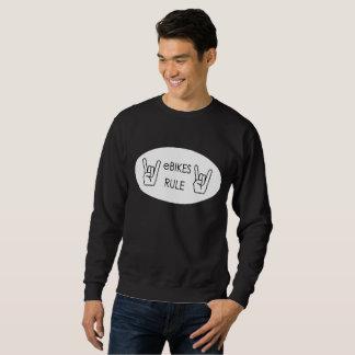 """Moletom De """"camisolas da regra Ebikes"""" para homens"""