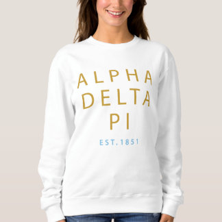Moletom Delta alfa Pi | Est. 1851