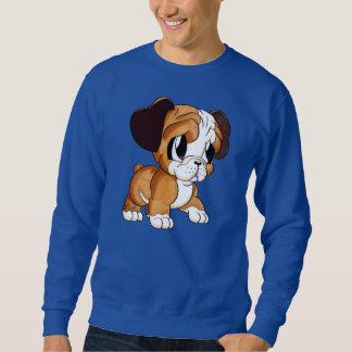 Moletom Desenhista caracterizado: A camisola azul dos