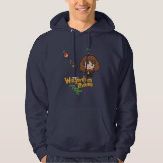 Moletom Desenhos animados Hermione e período de Ron