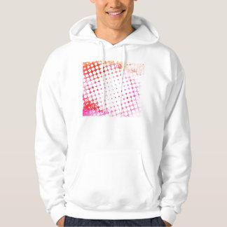 Moletom Design de explosão cor-de-rosa da banda desenhada