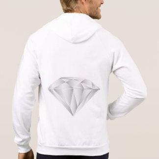 Moletom Diamante branco para meu querido