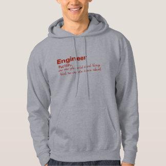 Moletom dicionário do engenheiro que significa o hoodie