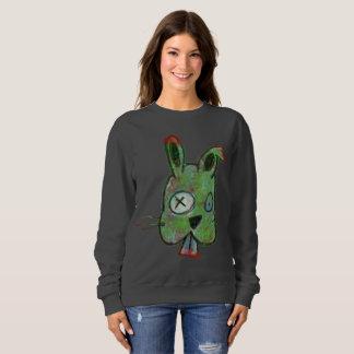 """Moletom Do """"A camisola básica das mulheres do coelho"""