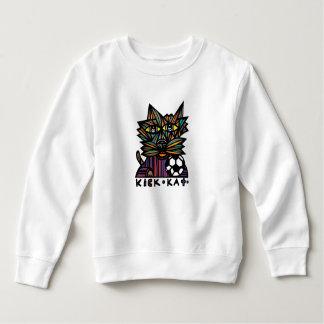 """Moletom Do """"camisola da criança do Kat pontapé"""""""
