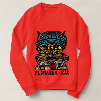 "Moletom Do ""camisola do Raglan dos homens do Kat"