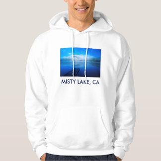Moletom Doca no lago enevoado calmo, Califórnia