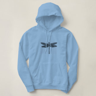 Moletom 'Dragon-Fly_Woman's_Hooded_Sweatshirt