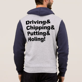 Moletom Driving&Chipping&Putting&Holing (preto)