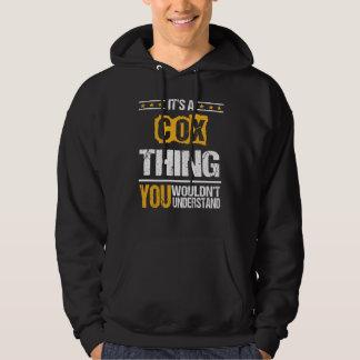 Moletom É bom ser Tshirt de COX