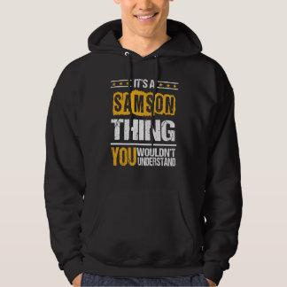 Moletom É bom ser Tshirt de SAMSON