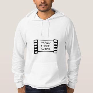 Moletom É somente um filme, querido. Filme preto e branco