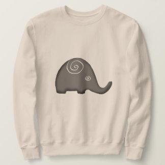 Moletom Elefantes espirais tribais icónicos bonitos