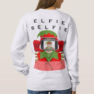 Moletom Elfie Selfie