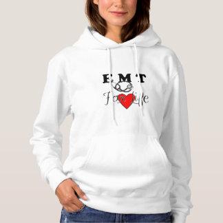 Moletom EMT para a vida