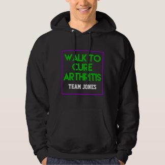 Moletom Equipe da caminhada da artrite